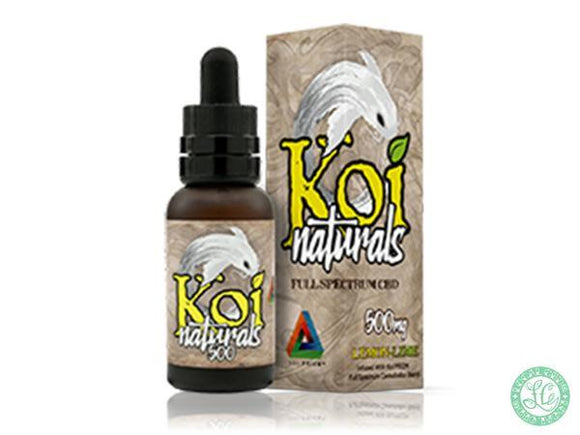 Koi KOI NATURALS - Lemon Lime - 30ml - Local Vape - Online Vape Shop