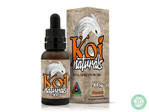 Koi KOI NATURALS - Orange - 30ml - Local Vape - Online Vape Shop
