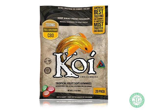 Koi KOI Tropical Fusion CBD Gummies - Local Vape - Online Vape Shop