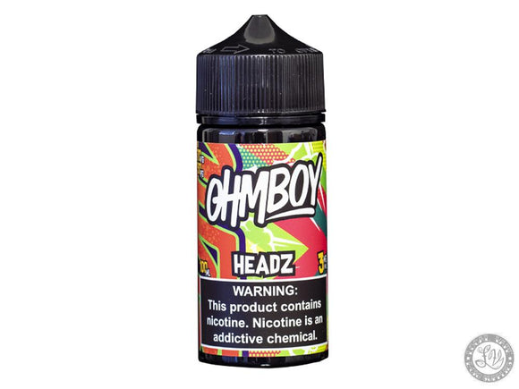 ohmboy Ohmboy Eliquid - HEADZ - 100ml - Local Vape - Online Vape Shop