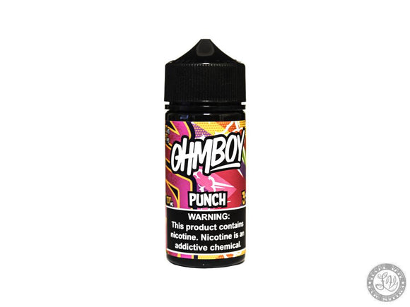 ohmboy Ohmboy Eliquid - Punch 100ml - Local Vape - Online Vape Shop