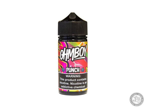 ohmboy Ohmboy Eliquid - Punch Ice 100ml - Local Vape - Online Vape Shop