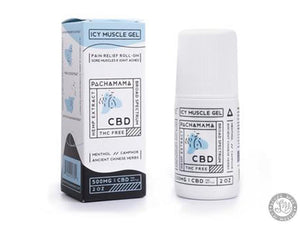 Pachamama Pachamama CBD - Icy Muscle Gel - Local Vape - Online Vape Shop