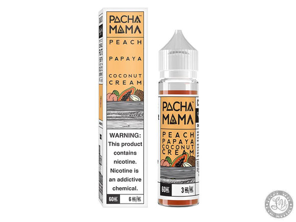 Pachamama Pachamama – Peach Papaya Coconut Cream - Local Vape - Online Vape Shop