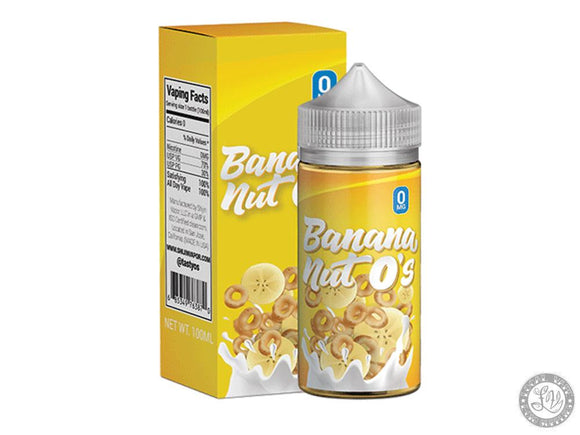 Shijin Vapor Tasty O's Banana Nut O's - Local Vape - Online Vape Shop