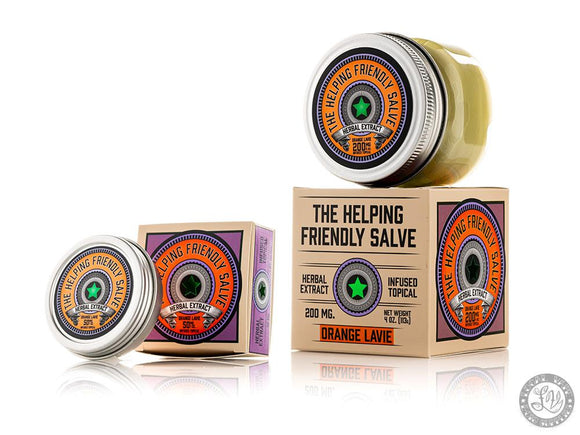 The Helping Friendly The Helping Friendly Orange Lavie Salve - Local Vape - Online Vape Shop