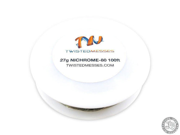 Twisted Messes Twisted Messes Nichrome 80- 100ft - 27g - Local Vape - Online Vape Shop