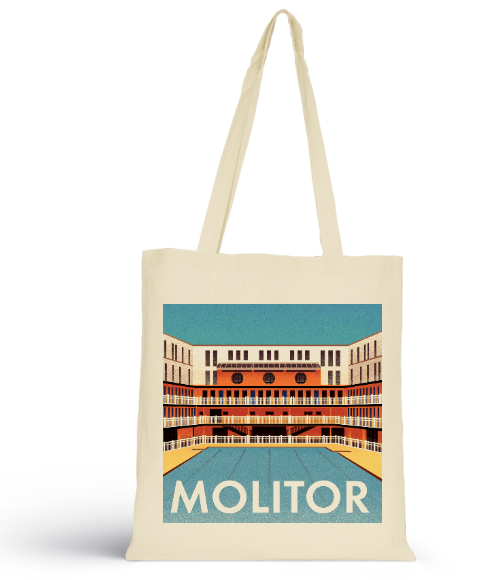 MOLITOR vinyl tote bag vol.1