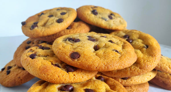 Chocolate Chip Cookie pile