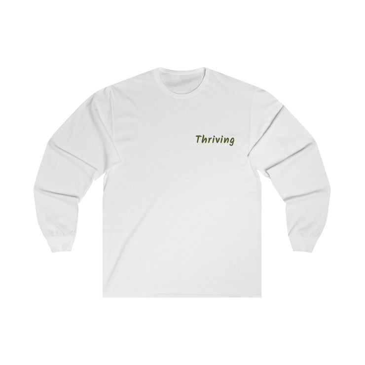Thriving OG Long Sleeve Tee (White)