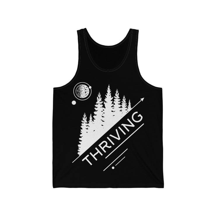 Unisex Jersey Thriving Earth Tank Top