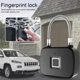 Smart Fingerprint Lock | Waterproof Digital Lock Travel Suitcase