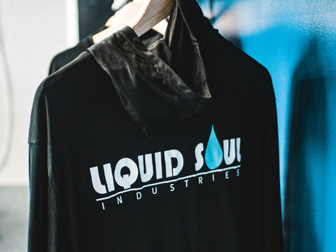 The Liquid Soul OG Hooded Rashguard (Black)