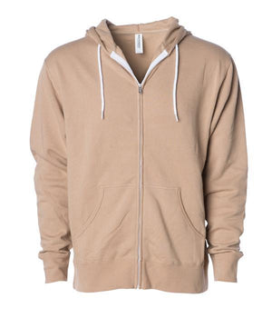 AFX90UNZ Unisex Zip Hooded Sweatshirt
