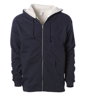 CLOSE OUT EXP40SHZ Sherpa Lined Zip Hooded Sweatshirt