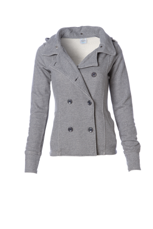 Close Out PRM350PC Womens French Terry Peacoat