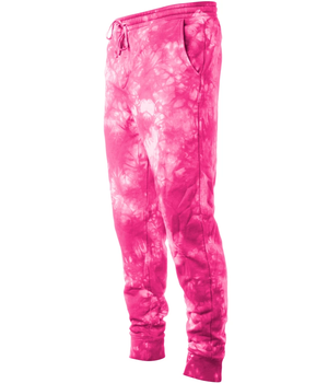 MEN'S TIE DYE FLEECE PANT