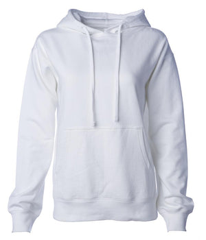 SS008 WOMEN'S MIDWEIGHT HOODED PULLOVER SWEATSHIRT