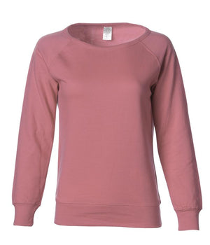 SS240 Women's Lightweight Capped Neck Crew