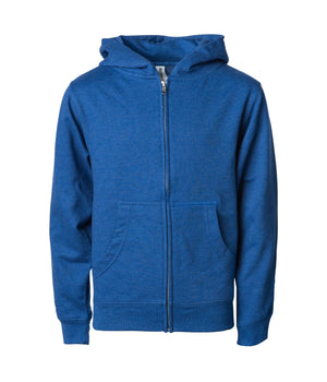 SS4001YZ Youth Midweight Zip Hooded Sweatshirt