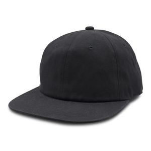 Washed Cotton Flat Bill Cap  GN-1004SB