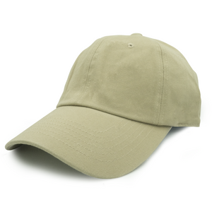 Washed Cotton Dad Cap