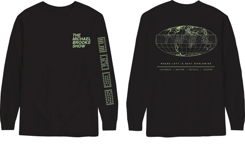 TMBS WORLDWIDE - BLACK LONG SLEEVE TEE