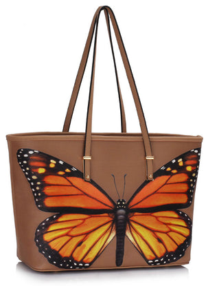 Butterfly Large Tote Bag