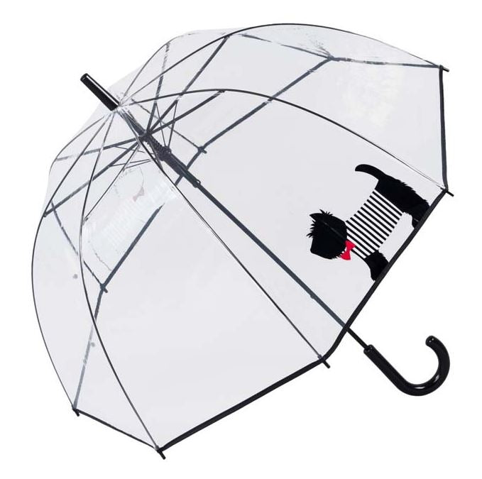 SCOTTIE DOG CLEAR DOME UMBRELLA - ONLY TWO LEFT!!!