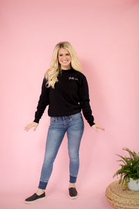 Bella Vita Sweatshirt in Black