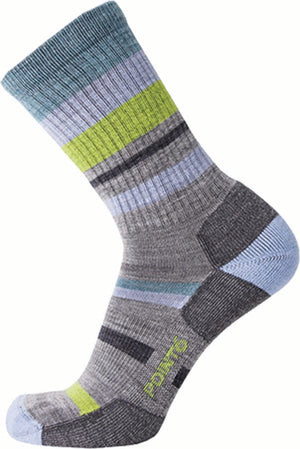 37.5 Hiking Mixed Stripe Light Crew