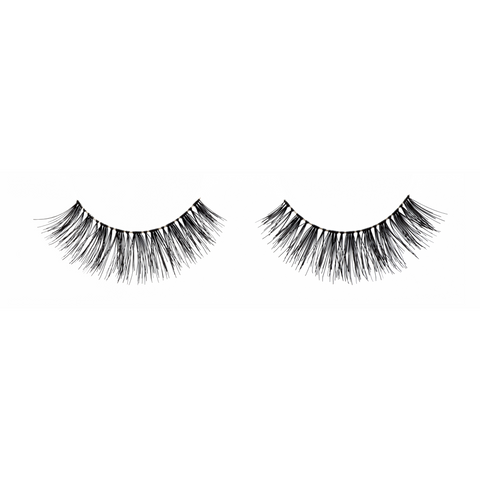 Black natural strip lashes, handmade, Lashionista Luxe™