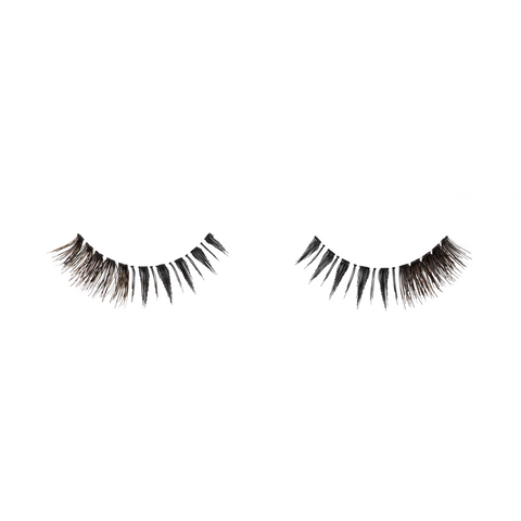 short false eyelashes, natural hair, black and brown, Lashionista Luxe