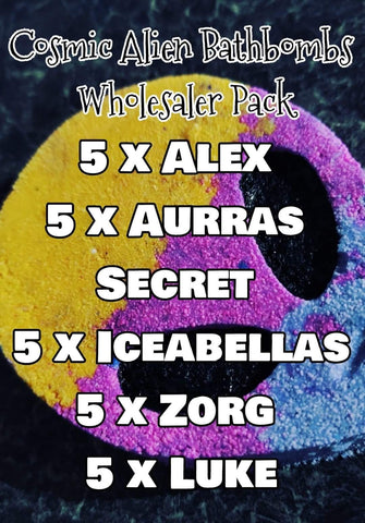 Cosmic Alien Wholesaler Pack