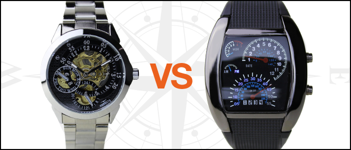 Weird Ape's Ultimate Test of Time: Mechanical Watches vs. Futuristic Watches