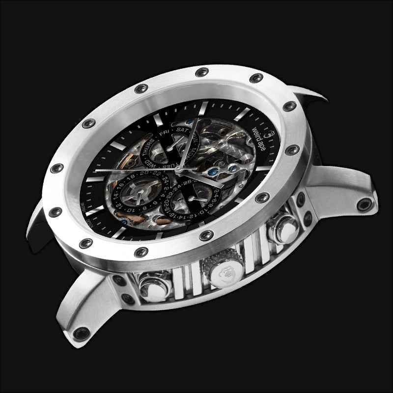 The Icarus 3 dials in Weird Ape mechanical mens watches.