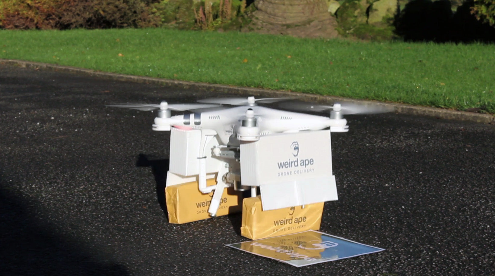 First Drone Delivery In Yorkshire