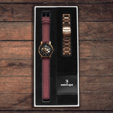 Kolt Rose Gold With Suede Gift Box