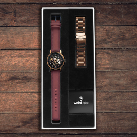 Weird Ape Kolt Rose Gold With Suede Gift Box