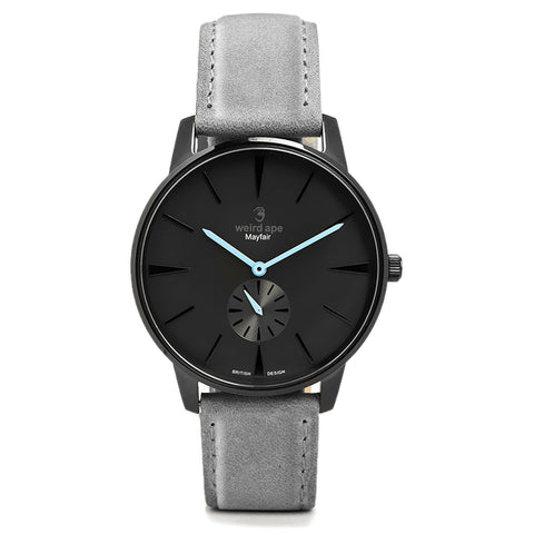 A photo of a Black cheap minimalist watch from our Black minimalist watches uk.