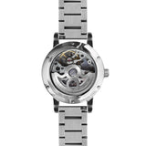 Weird Ape Rosalind - Women's Silver skeleton watch with a Silver strap
