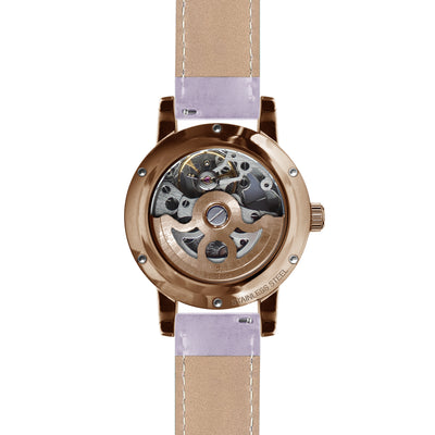 Weird Ape Rosalind - White Rose Gold / Lilac Leather