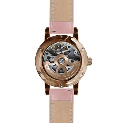 Weird Ape Rosalind - White Rose Gold / Pastel Pink Leather