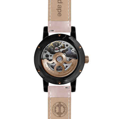 Weird Ape Rosalind - Black Rose Gold / Nude Leather