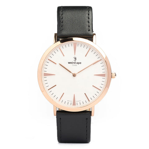 A photo of a Rose gold minimal watch from our Rose gold minimalist watches.