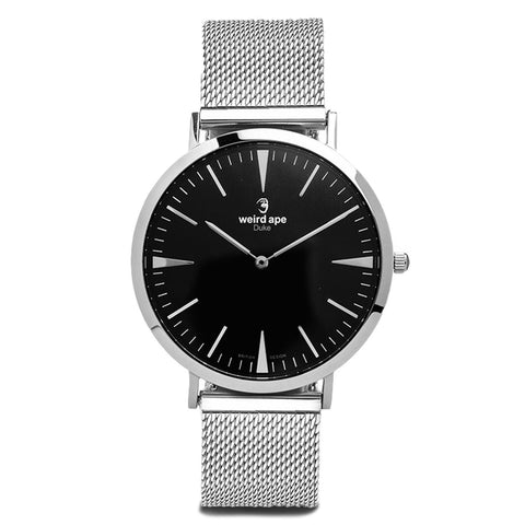 A photo of a Silver minimal watch from our Silver minimal watches.