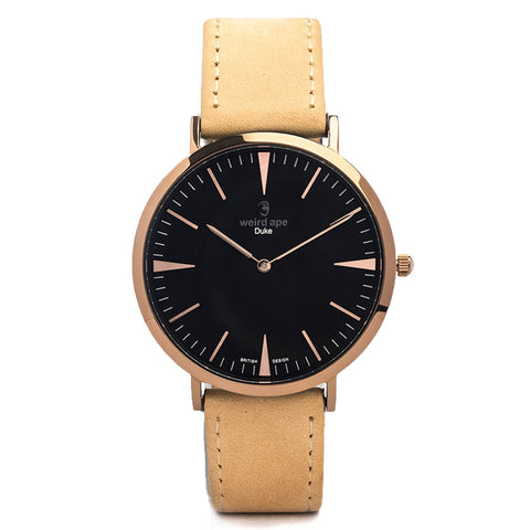 A photo of a Rose gold minimalist watch from our Rose gold minimalist watches.