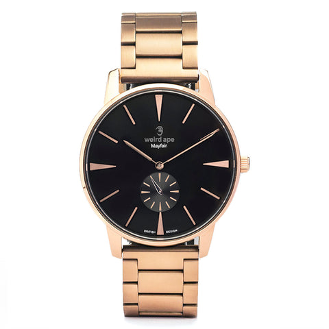 A photo of a Rose gold minimal watch from our Rose gold minimal watches.