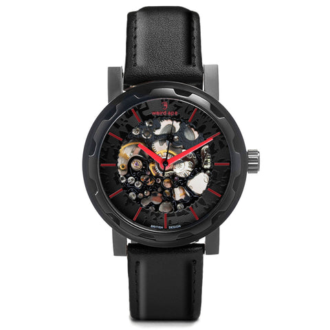 Weird Ape Weird Ape Kolt - Men's  skeleton watch with  strap