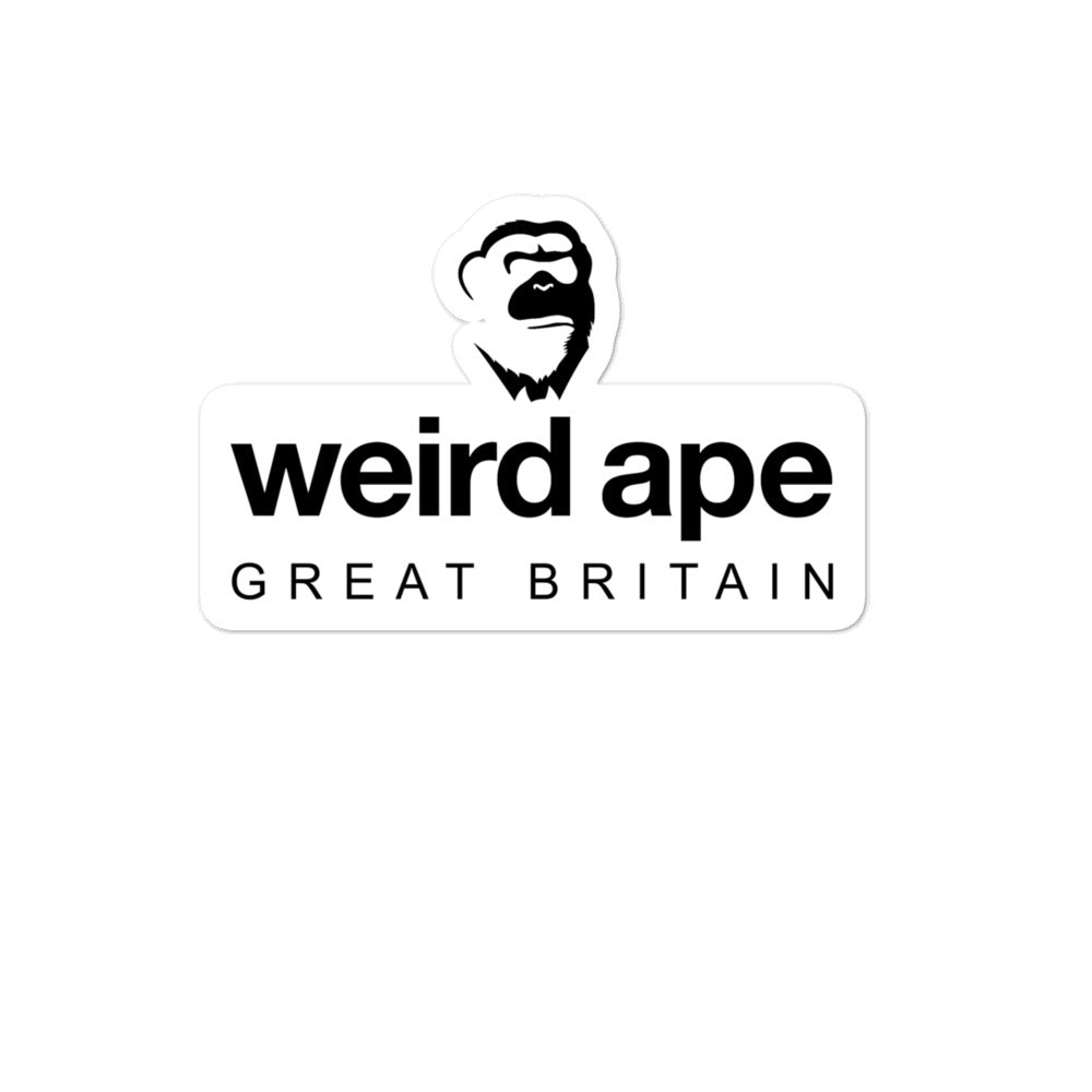 Weird Ape GB Sticker